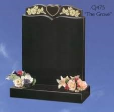 Flowers Headstone Personal Touch