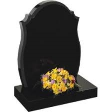 Funeral Passed On Headstone Flowers
